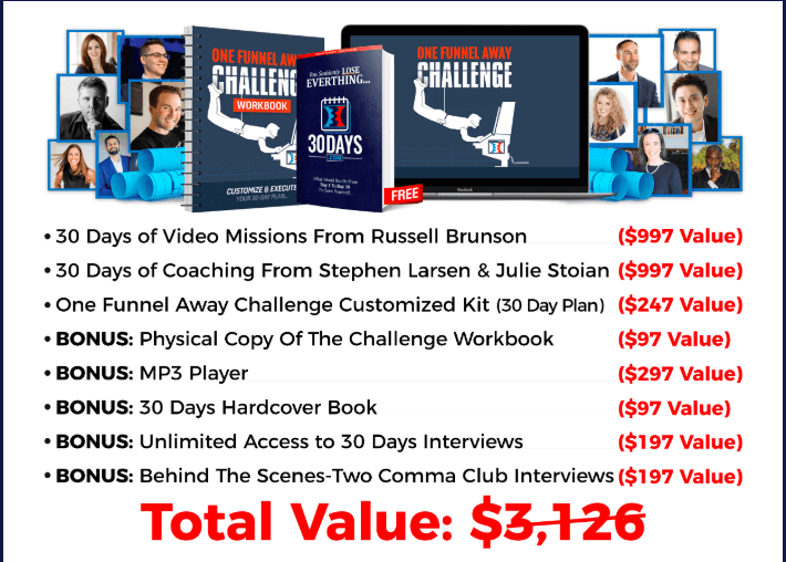 One Funnel Away Challenge - Total Value